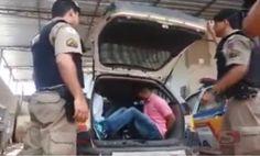 #News  População aciona policia que prende criminosos antes de assaltarem correios no Vale do Rio Doce