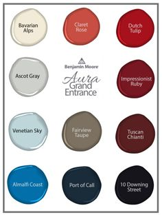 Benjamin Moore introduces new Aura Grand Entrance enamel coating, with unique and exclusive colours.