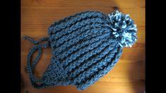 Crochet Headband Free Child Pom Poms Ideas For 2019 Easy Crochet Baby Hat, Crochet Baby Mittens, Crochet Headband Free, Crochet Baby Bonnet, Crochet Bebe, Crochet For Boys, Headband Pattern, Crochet Hats, Baby Pom Pom Hat