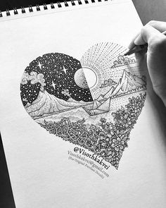 """""""Journey of Love"""" by @visothkakvei   #blackworknow if you would like to be featured  Submissions/business inquiries blackworknow@gmail.com  Follow our pages @blacktattoonow @tempuradesign and @illustrationow"""