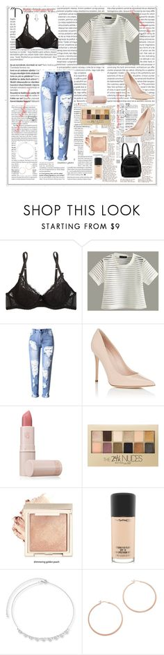"""An powerful outfit!!!"" by mariahzinha11 ❤ liked on Polyvore featuring Balmain, Mimi Holliday by Damaris, Barneys New York, Lipstick Queen, Maybelline, MAC Cosmetics, Jennifer Zeuner and STELLA McCARTNEY"