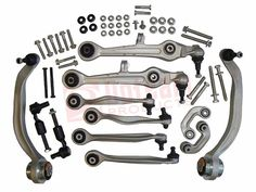 FRONT CONTROL ARM KIT FOR AUDI A4 A6 C5 B5 VW PASSAT SKODA SUPERB OEM 4D0498998 8D0498998 8D0 498 998  4D0 498 998