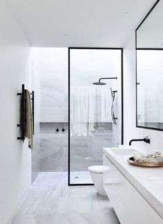 In most bathrooms, the shower enclosure is a bit of an afterthought, just a practical solution for keeping water from spraying all over the room. But lately, a different kind of shower enclosure is picking up steam — steel framed doors that make the shower a thing to be celebrated.
