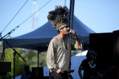 King Khan and the Shrines perform at Bumbershoot.