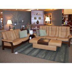 Ekornes Stressless® Buckingham High Back Loveseat | Forma Furniture
