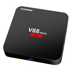 Only US$26.99, us plug SCISHION V88 mini Smart Android 6.0 TV Box Rockchip 3229 1G / - Tomtop.com