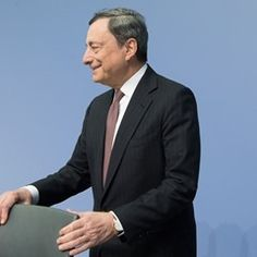 ECB President Mario Draghi attends press conference of the European Central Bank in Frankfurt