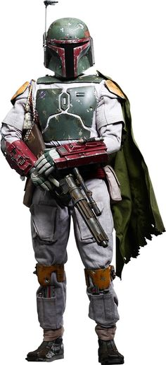 Boba in his Mandalorian Armor..... well worth the $$$ in my opinion! I want it.