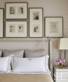 Residences - Master Bedroom Detail - Suzanne Lovell Inc.