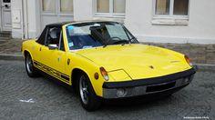 Porsche 914 jaune