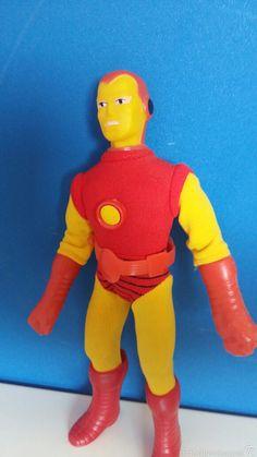 Figuras y Muñecos Mego: Iron man mego original en caja una joya - Foto 3 - 58340966