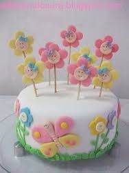 Resultado de imagem para bolo de aniversario menina