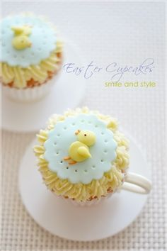 Chick Cupcake for Easter