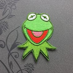 Frog imparting patch Clothing patches Polo Embroidered Iron on Patch sew on patches meet you on Fleckenworld.com