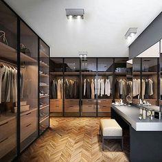 Closet top! #design #decoracao #interior #interiores #closet #hombrelifestyle