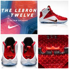 52327ea36100 The new Nike LeBron 12 is now available.  Basketball  Shoes Nike Basketball  Shoes