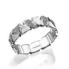 Wedding Band Wedding Ring Woman Wedding Ring by CMichaelJewelry Rose Wedding Rings, Wedding Rings For Women, Bridal Rings, Wedding Ring Bands, Bridal Jewelry, Rings For Men, Yellow Gold Rings, White Gold, Rose Gold