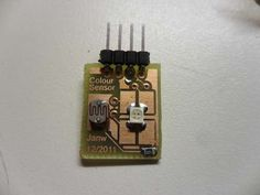 Build your own (at)tiny colour sensor. Instructables (2012)