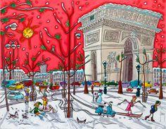 Ça glisse à Paris - Alain Godon
