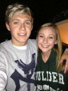One Direction with fans... Niall Horan