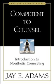 This is the landmark book that helped set the stage for Biblical Counseling. Adams provides a biblical response to psychology and presents its alternative, Nouthetic counseling. More on the theory side, this book handles the basic what and why of nouthetic confrontation and counseling method.