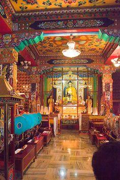 Tibetan Monastery Temple.