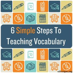 Linguistic Intelligence - Doing it Differently: Tips for Teaching Vocabulary