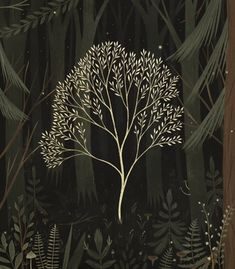 Discovered by Ana Paula Horta. Find images and videos about gif, art and illustration on We Heart It - the app to get lost in what you love. Gifs, Illustrations, Illustration Art, Magic Forest, Cinemagraph, Animation, Arte Floral, Art Inspo, Digital Art
