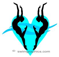 Synchronized Swimming Duet Clipart: Page One. Synchronized Swimming, Keep Swimming, Water Polo, Clipart, Live Life, Summer Fun, Cricut, Paint, Sport