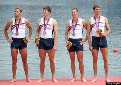 """US #Rowing Olympic Bronze  One very """"excited"""" rower (Henrik Rummel)"""