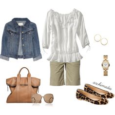 Classic Spring/Summer Casual, created by archimedes16 on Polyvore