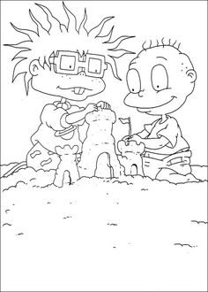 Dibujos para colorear para niñosRugrats 8