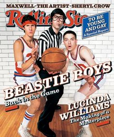 "R.I.P. Adam ""MCA"" Yauch.  Beastie Boys on Rolling Stone's 1998 cover"
