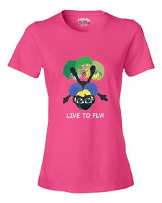 LIVE TO FLY - Women's T