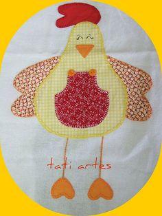 gallina amarilla