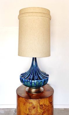 Vintage Mid Century table lamp by AandEvintage on Etsy
