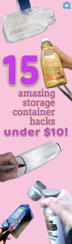 Make an affordable container without burning money!