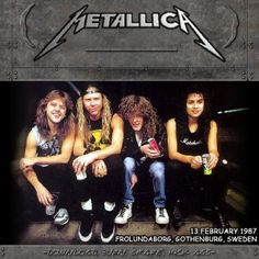 1987/02/13 Gothenburg, Sweden by Metallica (Bootleg, Thrash Metal ...