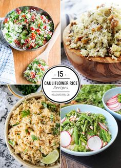 15 Healthy Cauliflower Rice Recipes | HelloNatural.co