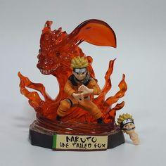 29.01$  Buy here - http://aij5l.worlditems.win/all/product.php?id=32794612485 - Anime Naruto PVC Action Figures 180mm Toys Kurama Anime Naruto Shippuden Model Toy Uzumaki Naruto