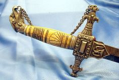 Civil War Eagle officer's sword for Militia Infantry - 15 Stars