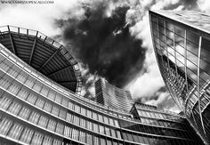 WITH THE NOSE UP IN THE AIR - Region's building, Milan, Italy, 01th Maj 2013