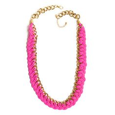 Piece Of Cake Necklace Pink, $154, now featured on Fab.