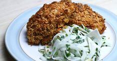Découvrez cette recette de Poulet rôti en croûte de Corn Flakes pour 4 personnes, vous adorerez!