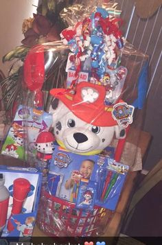 Spiderman easter basket cabe found at debs creations at www paw patrol easter basket negle Gallery