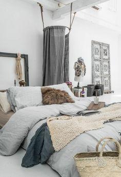 schlafzimmer einrichten kuschelige momente - Do It Yourself Kopfteil Designs