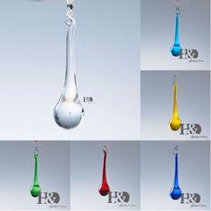 Rain-Drop-Crystal-Prisms-Lighting-Pendant-Parts-Glass-Lamp-Chandelier-20-80mm