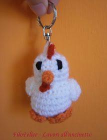 Idee per la pasqua pulcini e galline ad uncinetto for Idee creative uncinetto