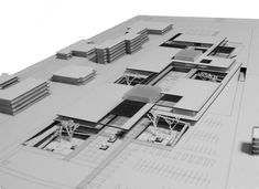 Mimari Concept Models Architecture, Landscape Architecture Design, Minimalist Architecture, Modern Architecture, Architecture Drawings, Paris Architecture, Architecture Student, Legoland Florida Map, Plaza Design