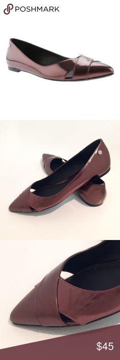 Selling this 🎉HP🎉NWOT Calvin Klein Flats on Poshmark! My username is: poojajp. #shopmycloset #poshmark #fashion #shopping #style #forsale #Calvin Klein #Shoes
